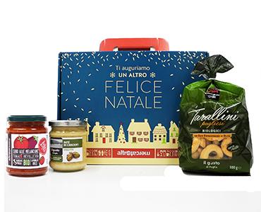 Cesto con prodotti Puglia- Proposta 1