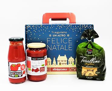 Cesto con prodotti Puglia - Proposta 2